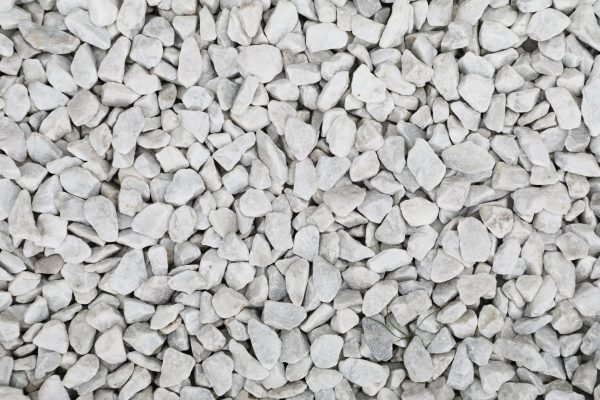 marbre blanc de carrare concassé