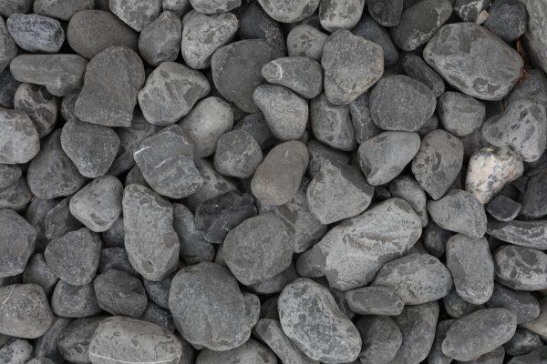 galets decoratifs noirs pierres naturelles