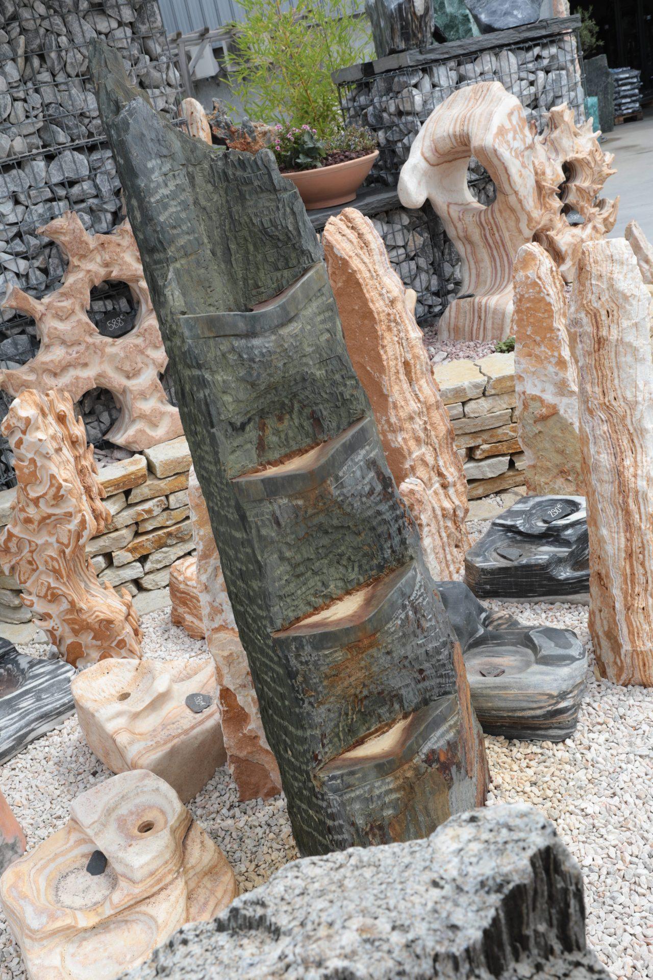 sculpture d'exception en pierres naturelles