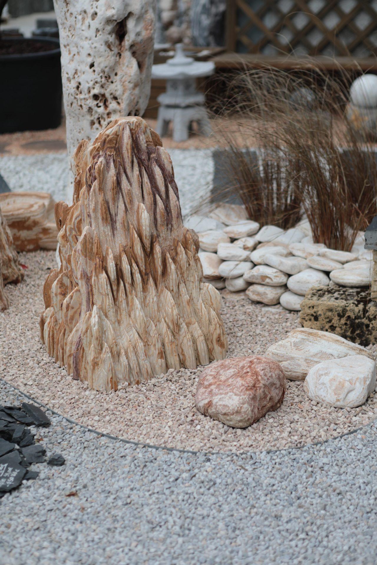 pierres décoratives pour le jardin