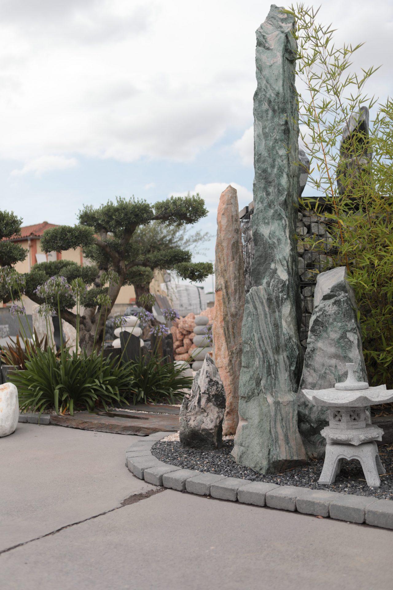 pierres de décoration pour l'extérieur