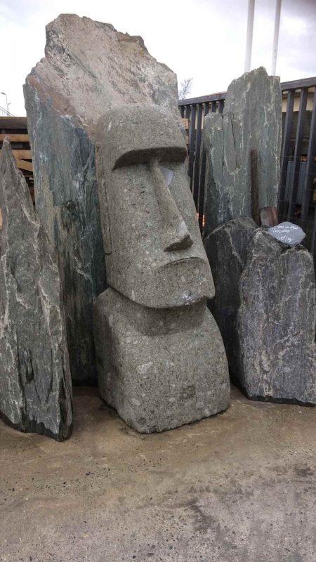 tête moaï décorative